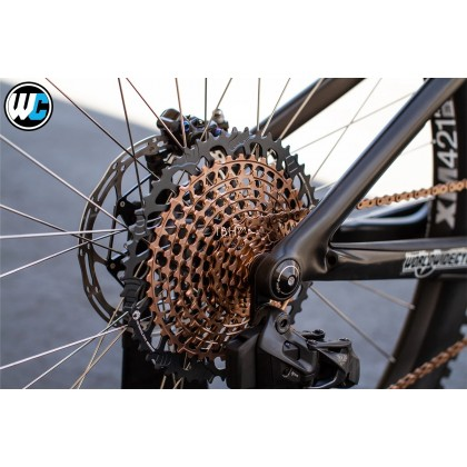 SRAM Eagle XX1 2021 groupset 10-52t rose gold