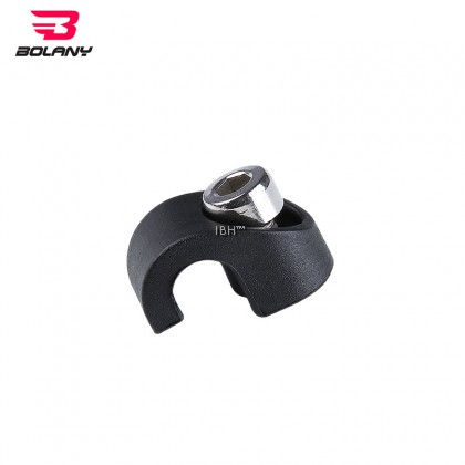 Bolany Steel Black Star Nut,30x52MM and 39.8x52MM Base Spacer Crown Race, Lock Cover,Remote Lockout Wire Control