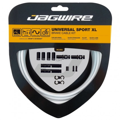 Jagwire Universal Sport XL Shift Kit Brake Kit Folding Bike SHIFT Brake CABLE SET Lengthened pipeline