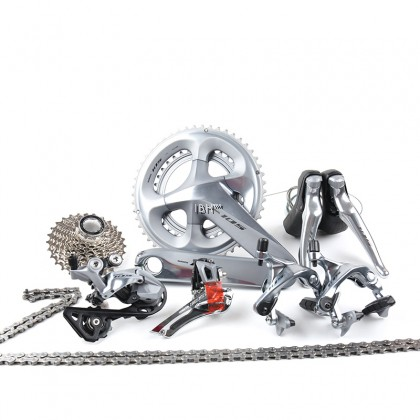 Shimano 105 R7000 2x11 22 Speed 50x34T 53x39T 170mm 172.5mm Road Bicycle Bike Mechanical Groupset Derailluer Kit Silver Calipers