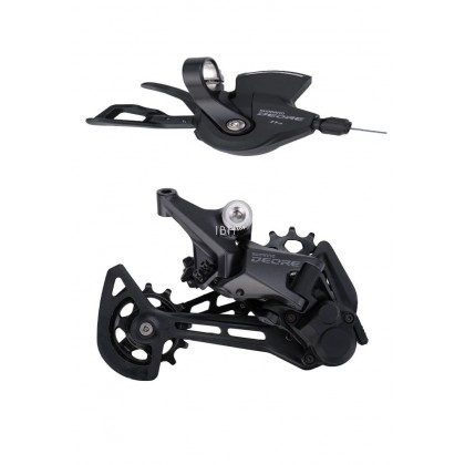 SHIMANO DEORE M5100 Groupset SL M5100 SHIFT LEVER + RD M5100 REAR DERAILLEUR MTB DEORE 11-SPEED SL+RD M5100 Groupset
