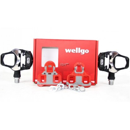 Wellgo R303 Aluminum alloy Bearing Bicycle Road Pedal clipless sealed bearing