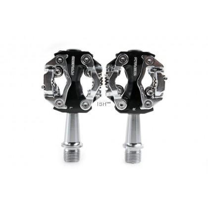 Zeray SPD Model ZP-108s Clipless Pedal MTB XC dual sided ultralight 130g | Shimano m520