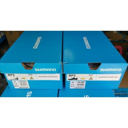 Shimano RP2 Shoes SH-RP200 Black White road cycling shoe clipless zeray carbon pedal