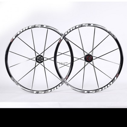 RT ST6 MTB XC 26 27.5 aluminum wheelset Crankbrother clincher rim ( 6 colors)