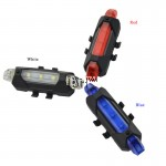Rapid-X LED Aero Rear Back Lamp Tails Light Rechargeable USB
