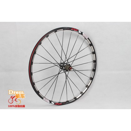 "Rt S90 MTB XC Offroad mountain bike 27.5"" wheels 26"" sealed bearings disc brake wheelset LOUD rim clincher"