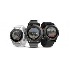 fēnix® 5 Slate Gray with Black Band Fenix 5s carrara white 5s 5x sapphire fenix 3 titanium