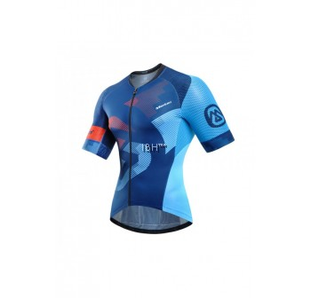 2017 Monton Cycling Jersey Men PRO Attack Criterium Yellow Blue Red