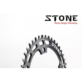 STONE 120bcd Narrow wide tooth round Single Chainring SRAM X9 x1 Crank 20s