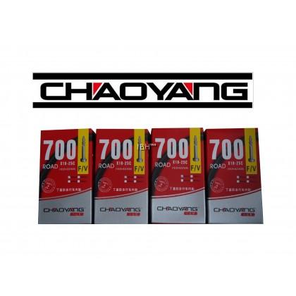 Chaoyang road bike inner tube presta 700c 18c 21c 23c 25c 33mm 48mm 60mm 80mm rb 100mm FV