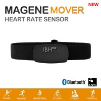 2019 Magene Mover MHR10 Dual Mode ANT+ & Bluetooth 4.0 Heart Rate Sensor Chest Strap