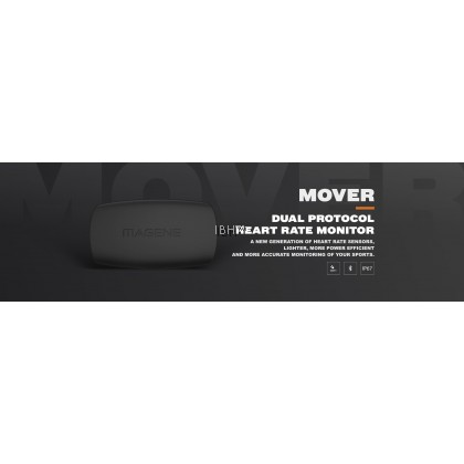 2020 Magene Mover H64 MHR10 Dual Mode ANT+ & Bluetooth 4.0 Heart Rate Sensor Chest Strap