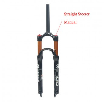 "BOLANY Air Suspension Fork MTB Mountain Bike 26"" 27.5"" 29"" 100mm 1-1/8Threadless"