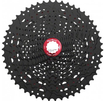 SunRace MZ90 12-speed 11-50T Cassette: Black ultralight