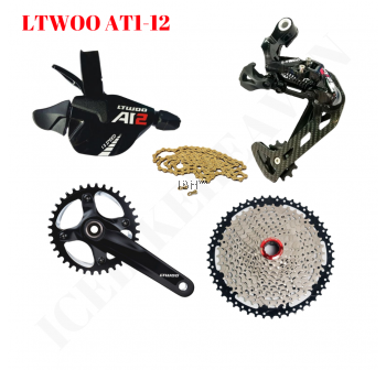 LTWOO Bicycle  AT1-12 1X12S AT 12 Speed Shifter Lever Right Rear Derailleur For MTB Mountain Bike Fat Bike Compatible EAGLE 12s
