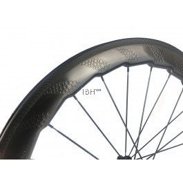 ZIPP NSW454 design carbon clincher road wheelset aero spokes novatec hub dimple rim