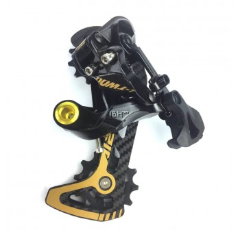 LTWOO AT-12 12 Speed Crankset Shifter Lever Right Rear Derailleur Gold 11-52T GX NX XX1