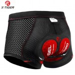 X-Tiger 2020 Upgraded Cycling Underwear Pro 5D Gel Pad Shockproof Underpant Bicycle Shorts Bike Lycra unisex