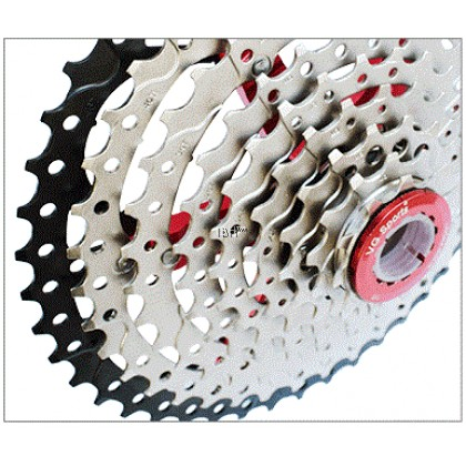 VG sports 8 9 10 11 12 speed cassette mountain bike large sprocket 8s 9s 42t 46t 50T gold wide ratio cassettes