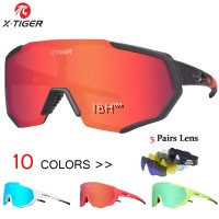 X-TIGER 2020 Polarized 5 Lens Cycling Glasses Road Bike Cycling Eyewear Cycling Sunglasses MTB Mountain Bicycle Cycling Goggles | OAKLEY 100%