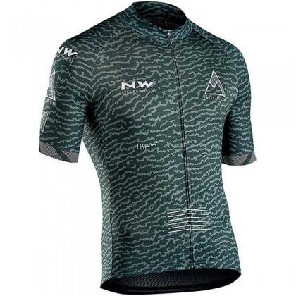 NW short sleeve jersey pockets full zip cycling top