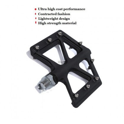 ZERAY ZP-D213 Carbon Fiber MTB Pedal Ultralight 115g Flat Pedal Road bike Mountain bike D213